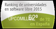 La UPCOMILLAS en el Ranking de universidades en software libre. PortalProgramas.com
