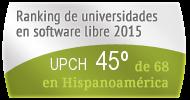 La UPCH en el Ranking de universidades en software libre. PortalProgramas.com