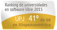 La UPJ en el Ranking de universidades en software libre. PortalProgramas.com
