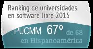 La PUCMM en el Ranking de universidades en software libre. PortalProgramas.com