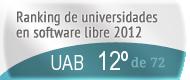 La UAB en el Ranking de universidades en software libre. PortalProgramas.com