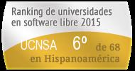 La UCNSA en el Ranking de universidades en software libre. PortalProgramas.com