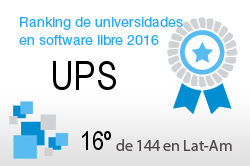 La UPS en el Ranking de universidades en software libre. PortalProgramas.com