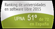 La UPNA en el Ranking de universidades en software libre. PortalProgramas.com