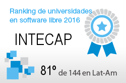 La INTECAP en el Ranking de universidades en software libre. PortalProgramas.com