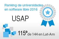 La USAP en el Ranking de universidades en software libre. PortalProgramas.com