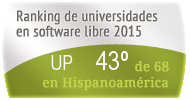 La UP en el Ranking de universidades en software libre. PortalProgramas.com