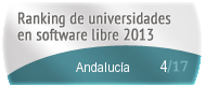Andalucía en el Ranking de universidades en software libre. PortalProgramas.com