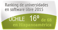 La UCHILE en el Ranking de universidades en software libre. PortalProgramas.com