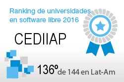 La CEDIIAP en el Ranking de universidades en software libre. PortalProgramas.com