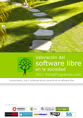 Portada del informe de valoracion del software libre 2011