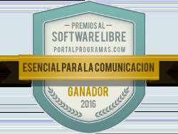 Ganador de los Premios PortalProgramas 2016 como Esencial para la comunicación