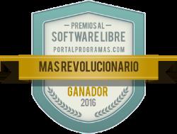 Ganador de los Premios PortalProgramas 2016 como Más revolucionario