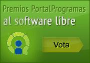 Vota en los Premios PortalProgramas al software libre