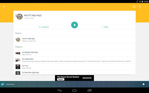 how to download tunein radio recordings