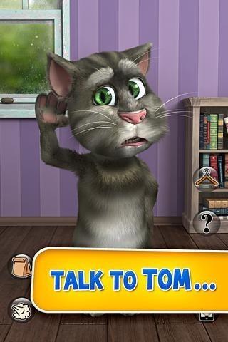 talking tom 2 320x480 free game