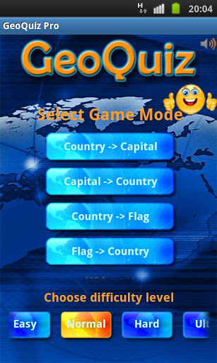 Geo Quiz Pro for Android - Free Download