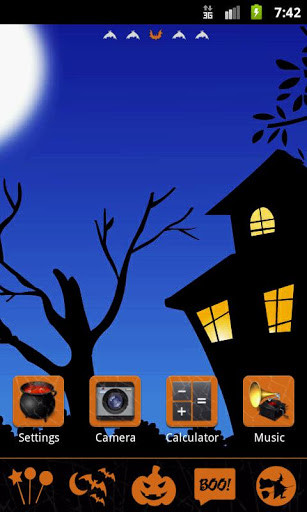 GO Launcher EX Theme Halloween for Android - Free
