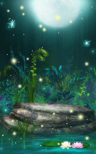 Fireflies Live Wallpaper for Android - Free Download