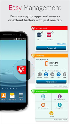 McAfee Antivirus & Security for Android - Free Download