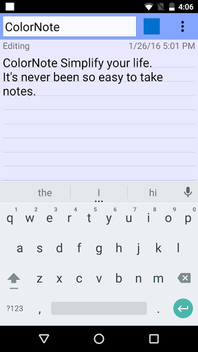 ColorNote Notepad Notes for Android - Free Download