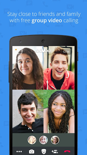 Oovoo free video call text and voice app android free download.