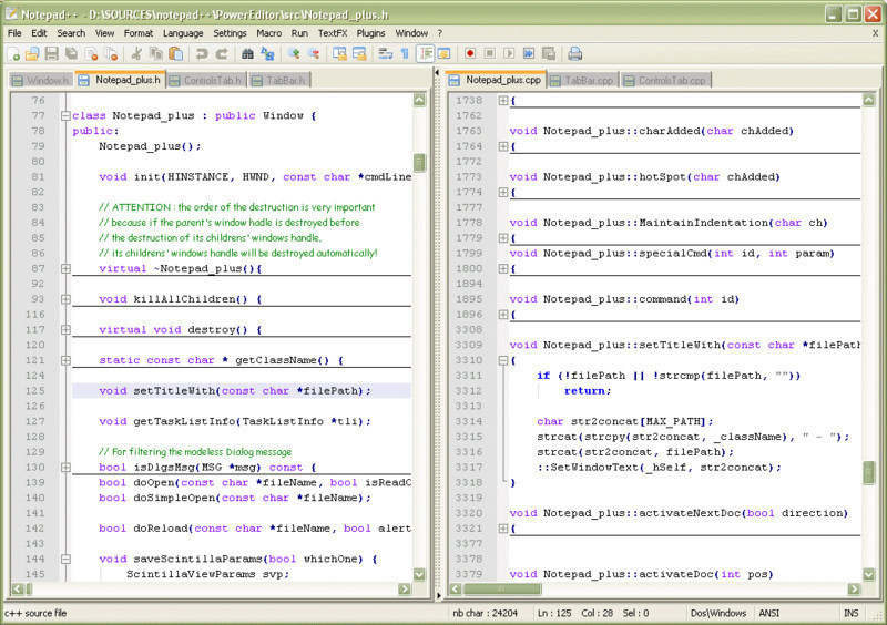 Notepad++ - Free Download