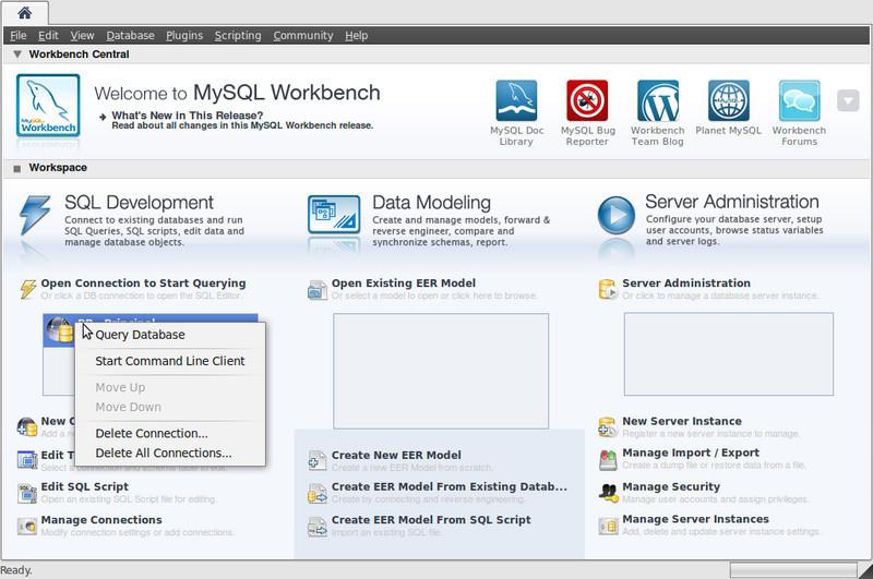 mysql er diagrams tutorial    mysql    workbench gui tools free download     mysql    workbench gui tools free download