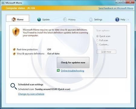 microsoft security essentials definition update 32 bit download