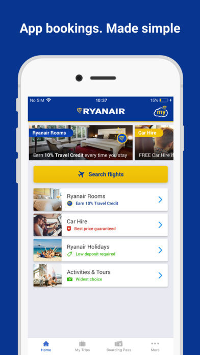 app ryanair iphone