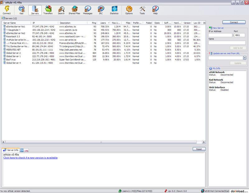 versione 0 47a emule gratis