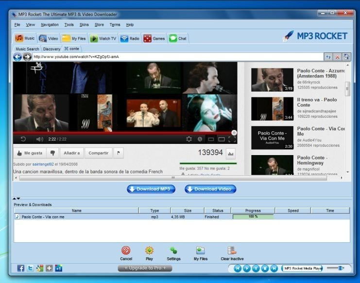 Mp3 rocket basic software download for windows 7, 8, 10.