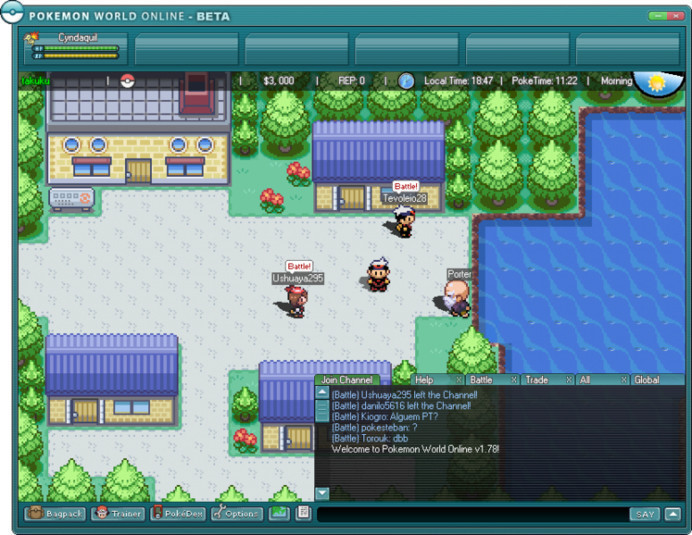 download games of pokemon for pc