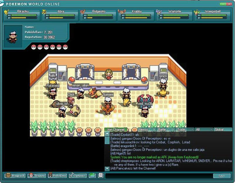Pokmon world online free download image 2 of pokmon world online publicscrutiny Image collections