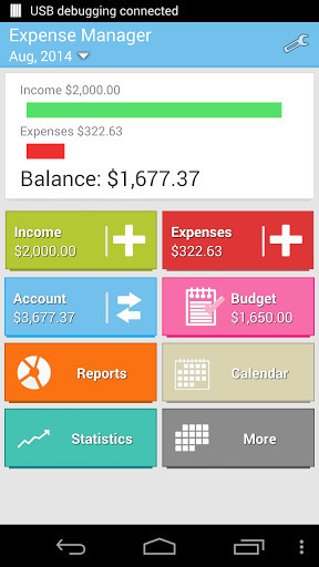 Manager Expense for Android - Free Download