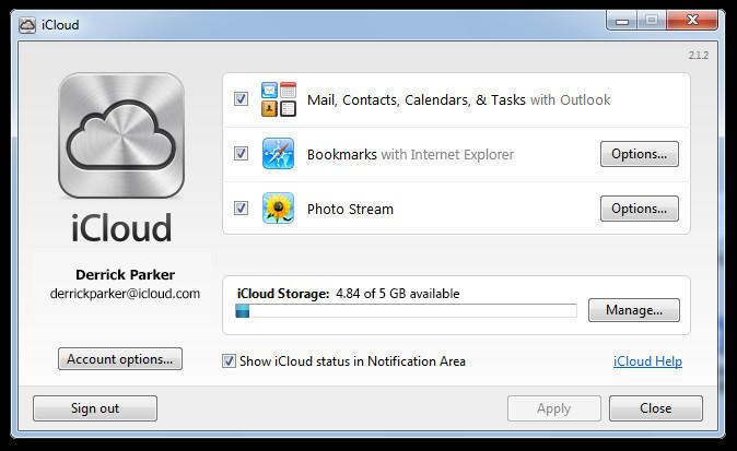 iCloud Control Panel - Free Download