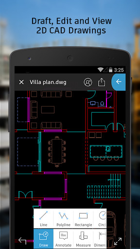 image 1 of autocad ws for android