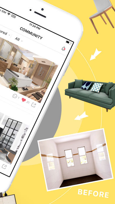 ... Image 2 Of Homestyler Interior Design For IPhone ...