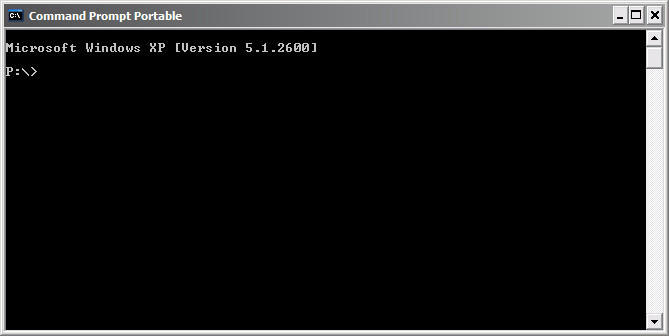 Command Prompt Portable - Free Download