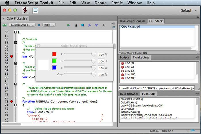 ExtendScript ToolkitCC - Free Download