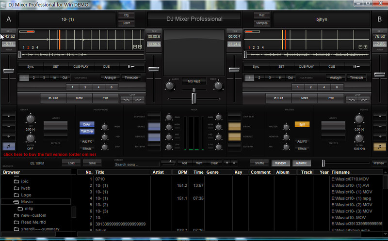 Dj music mixer dj music mixer download professional dj mp3 audio.