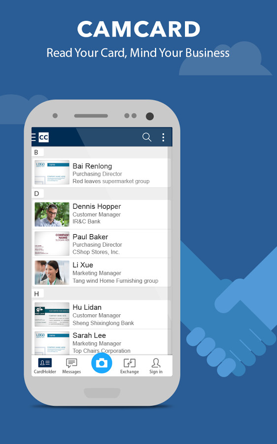 CamCard Lite - Business Card R for Android - Free Download