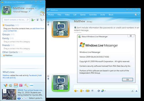 Free download: windows live messenger 8. 5 beta1 tech journey.