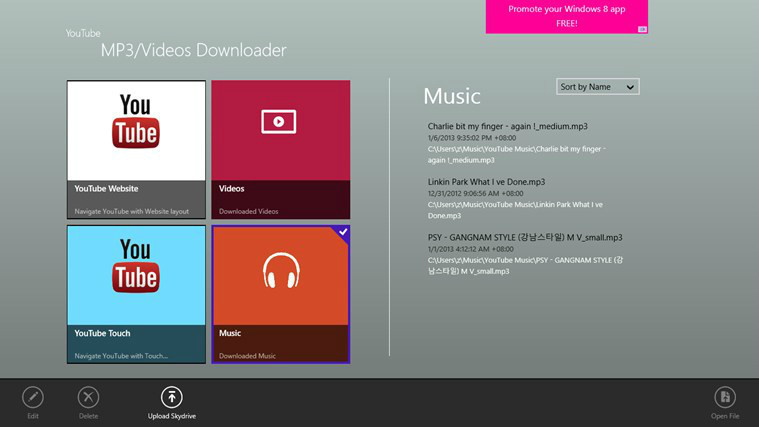 YouTube MP3 & Videos downloader - Free Download