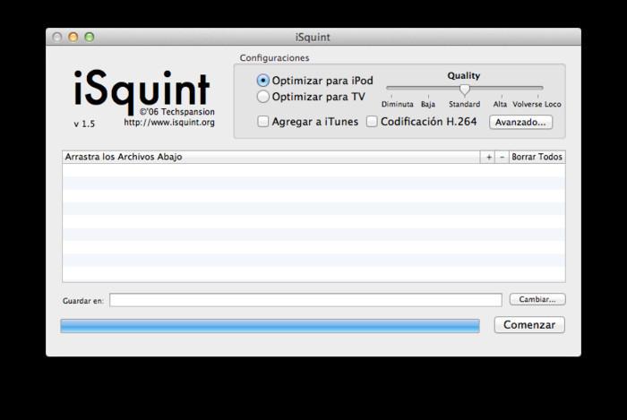 isquint pour ipad