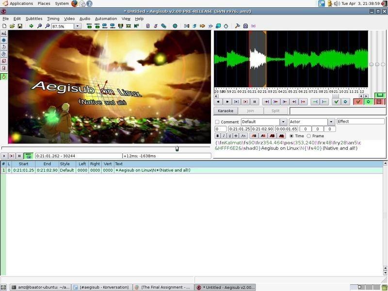 Aegisub - Free Download