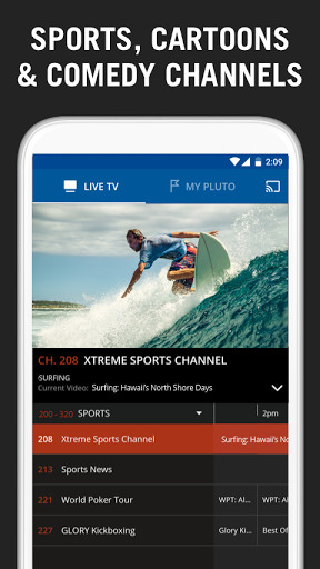 Pluto TV: TV for the Internet for Android - Free Download