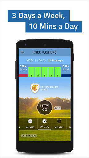 Push ups 0-100 Pushup Trainer for Android - Free Download