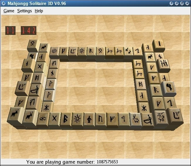 MahJongg Solitaire 3D - Free Download