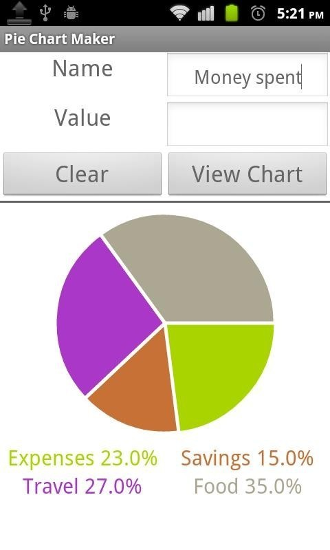 Pie chart maker for android free download image 3 of pie chart maker for android ccuart Choice Image